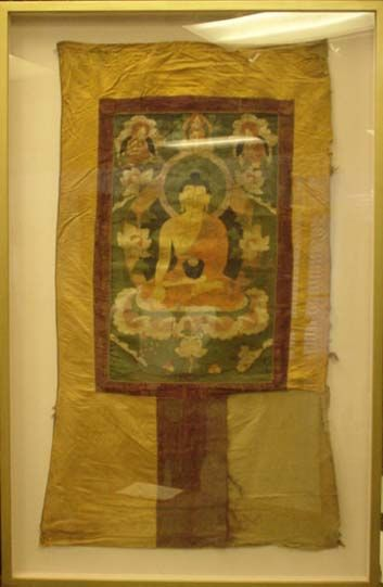 SHAKYAMUNI  In 6th century B.C. á¡kyamuni Buddha descended to the world to show the right path to the fortunate beings so that they may attain freedom from the cycle of existence.  PHP380K