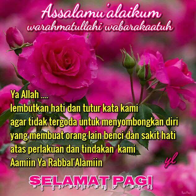 Kata Kata Mutiara Islam Selamat Pagi