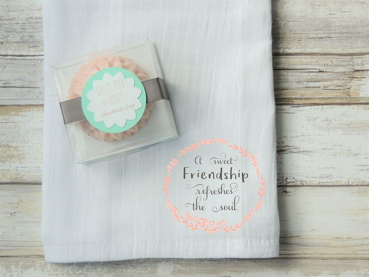 Excited to share the latest addition to my #etsy shop: Handmade Soap, Goat Milk Soap, Flower Soap, Friendship Gift, Facial Towel, Decorative Soap, Gift For Woman, Mom Gift, Shower Gift, Gift Set