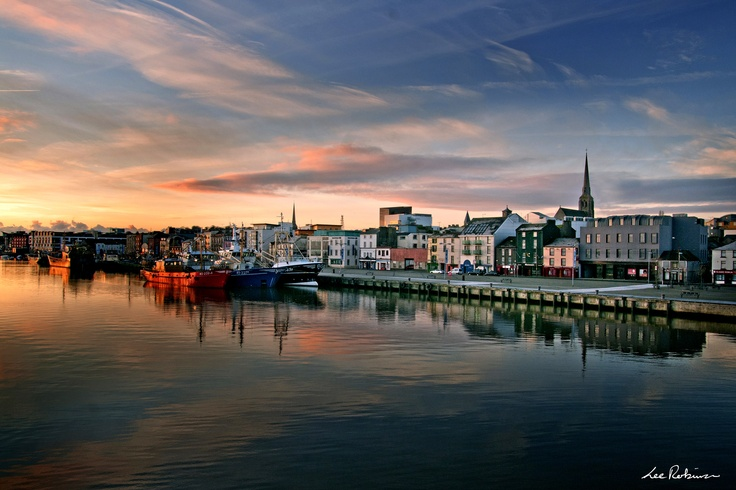 Evening, Wexford Town.