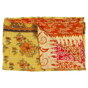 Vintage Sari Throw Barmer now featured on Fab.