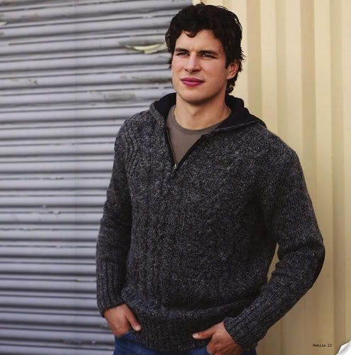 Sidney Crosby in a marvelous sweater