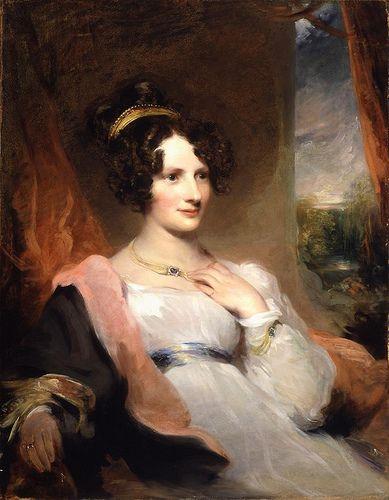 Portrait of Harriet Gordon, Sir Thomas Lawrence, c 1820