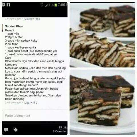 Resepi Brownie Cookies - iresipi.com