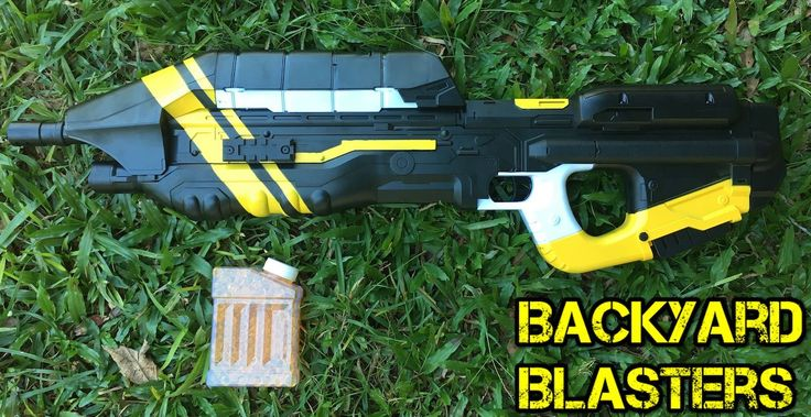 Is that a Halo MA5 C Toy Gun? It sure is! And... its a gel ball Shooter!  Review out soon on youtube! #halo #ma5c  #gelballshooter #gbb #bb #backyardblasters #toyguns #guns #rifles #halowars #haloftw #masterchief