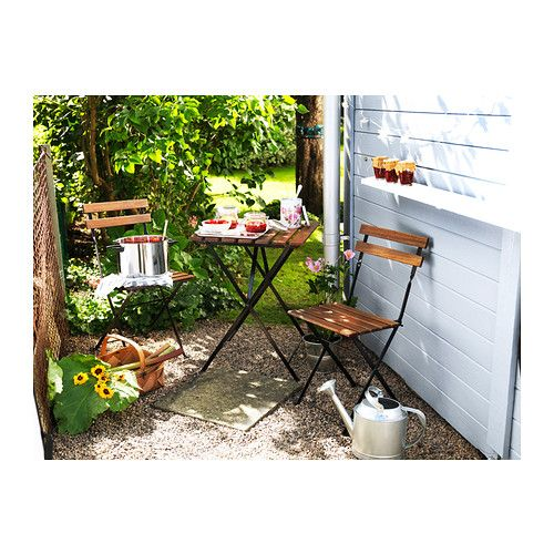 TÄRNÖ Bistro set IKEA You can easily protect your furniture against wear and tear by reglazing it on a regular basis, for example once a yea...