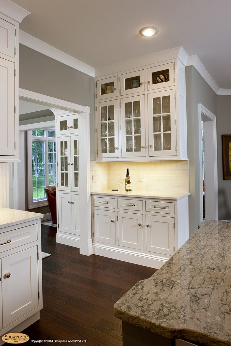 Superior White Kitchen Cabinets, Upper Cabinets, White Kitchens, Cabinet  Manufacturers, The Room, Handsome, Whitewash Kitchen Cabinets
