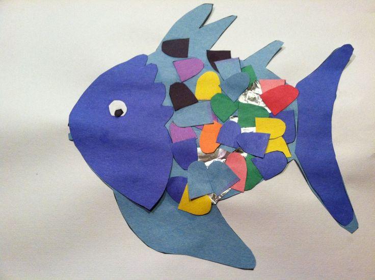 Rainbow fish craft educational pinterest for Rainbow fish craft