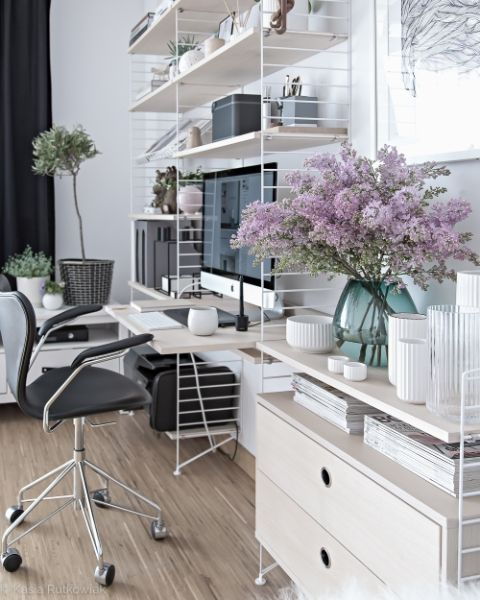 25 Best Ideas about Home Office Colors on PinterestBlue home