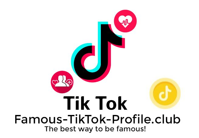 How To Be Famous On Tiktok The Best Way Famous Tik Tok Profile Compras