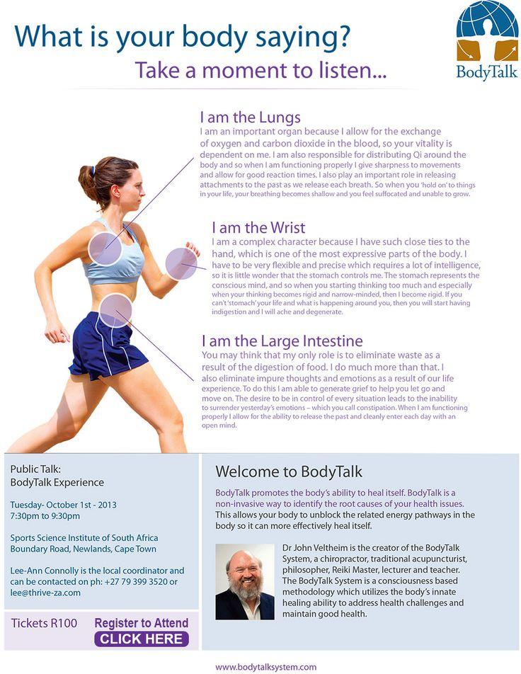 The BodyTalk Experience with Dr John Veltheim Public Talk