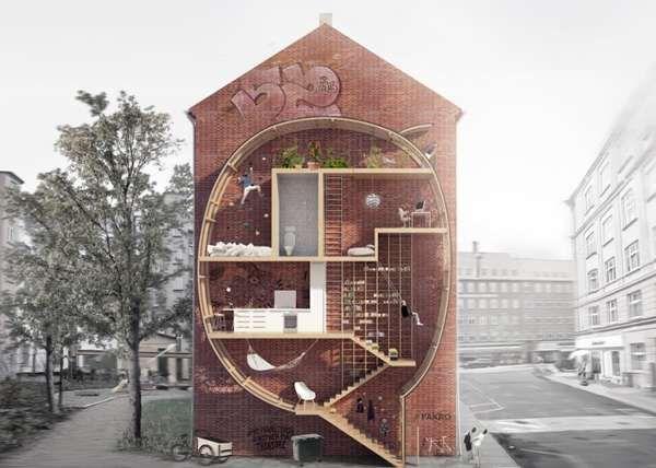 Architectual Oddities Fill-in City Gaps