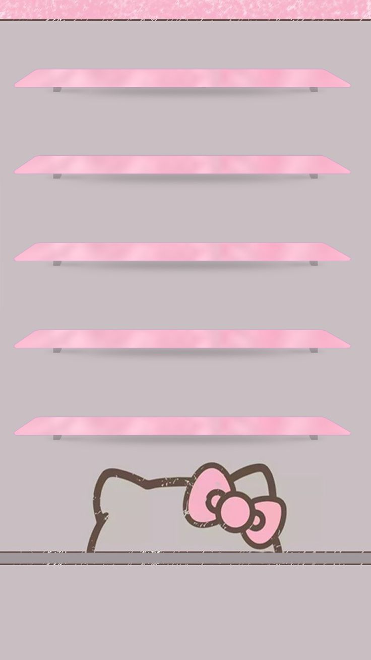 Wallpaper iphone cute pink - Hello Kitty For Girls Bow Pink Cute Screen Wallpaperiphone