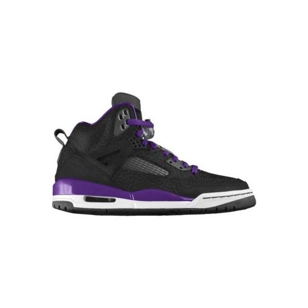Nike Jordan Spizike iD Custom Women's Basketball Shoes - Purple, 11.5 ($210) found on Polyvore