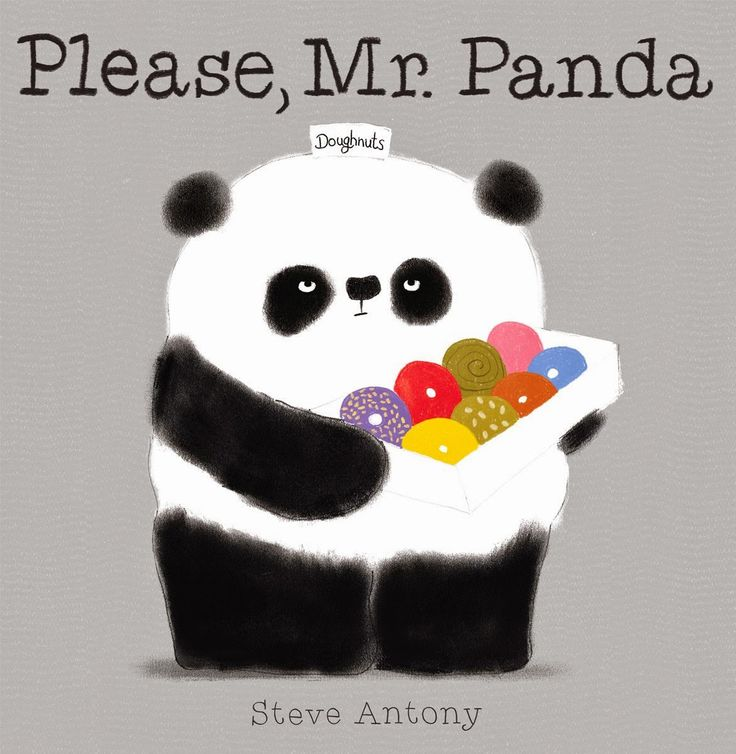 Literary Hoots: Please, Mr. Panda (newest, favorite-ist picture book right here. Manners and donuts)