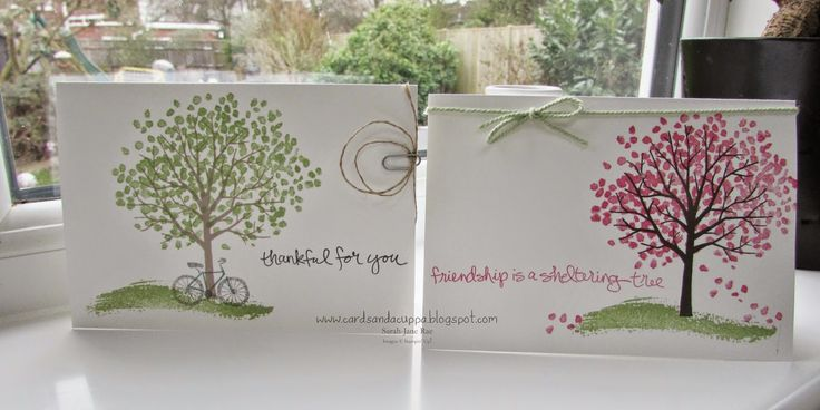 Stampin' Up! UK Demonstrator Sarah-Jane Rae Cards and a Cuppa