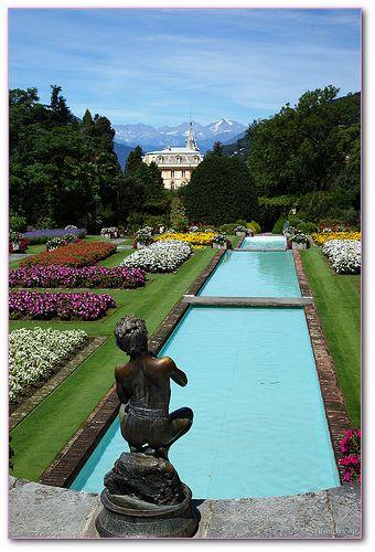 Villa Taranto, Verbania, province of verbano Cusio Ossola Piemonte, Italy