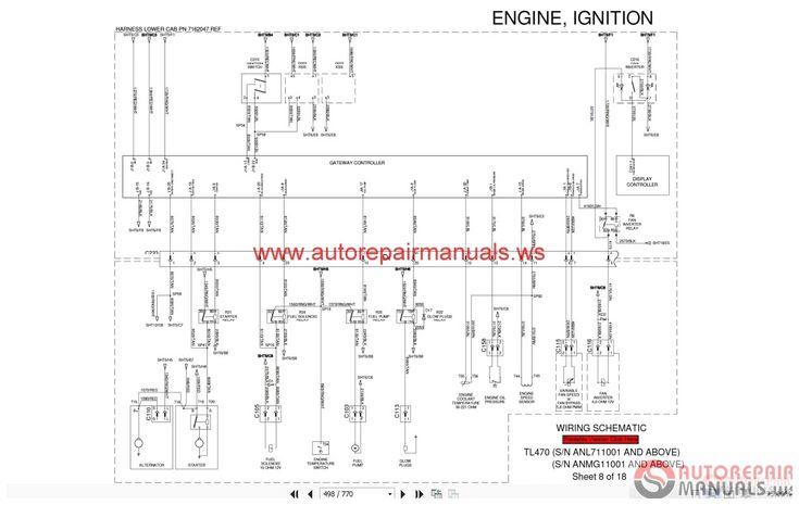 Bobcat T190 Wiring Diagram