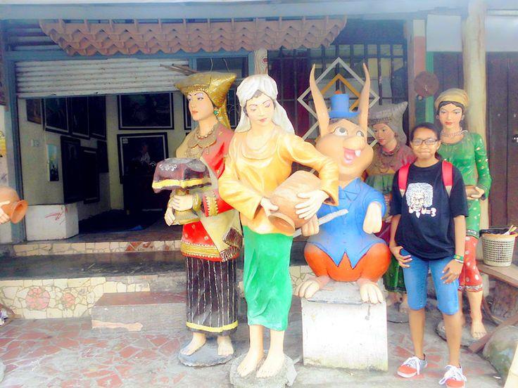 This is culture of Minangkabau.. Taman budaya padang di Padang, Sumatera Barat