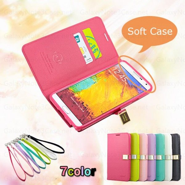 Der Cute Candy Wallet Flip Leather Cover Case For Galaxy Note 3 N9000 Turquoise