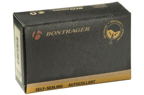 #Bontrager Self Sealing 26 x 1.75-2.125 Inner #Protect yourself from flats with the specially-designed Bontrager Self Sealing 26 x 1.75-2.125 Inner Tube Schrader Valve tubes that instantly seal small hole punctures. 0.9mm wall thickness.