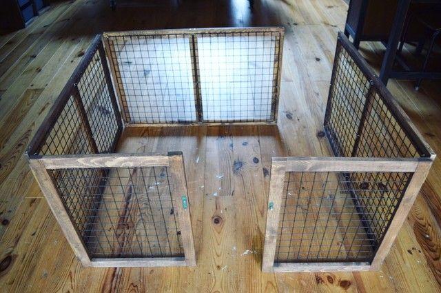 100均のアイテム活用で ペットの遊び場をつくったよ 小型犬やうさぎのサークルプレイルーム ウサギ小屋 犬のケージアイデア 犬小屋 Diy