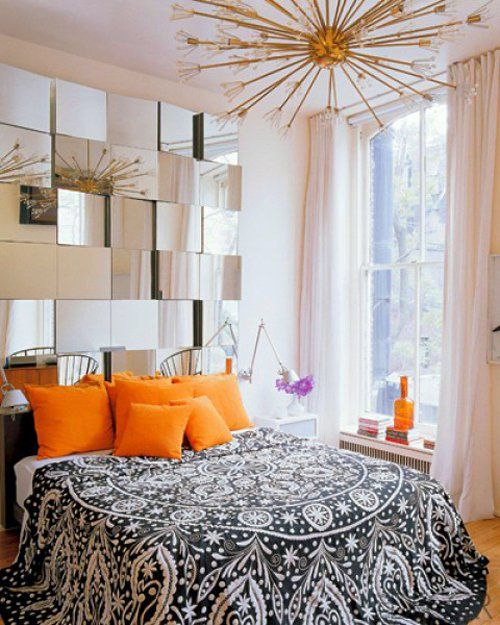 Like The Mirror As The Headboard; Bedroom