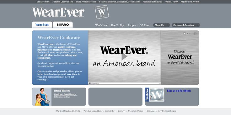 WearEver main page