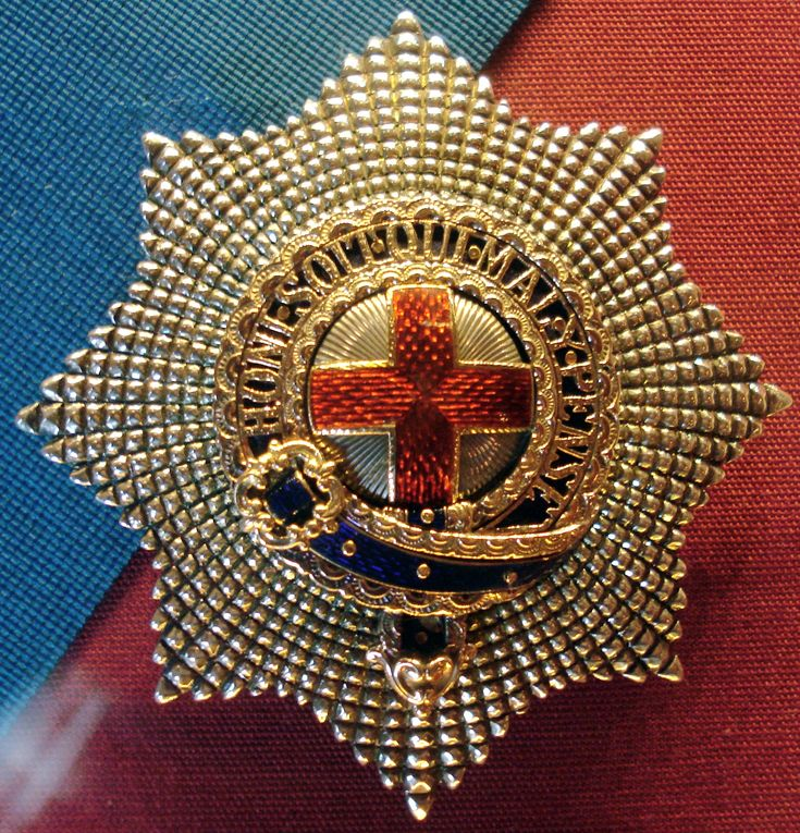 STAR OF THE ORDER OF THE GARTER / FOUNDED BY EDWARD III
