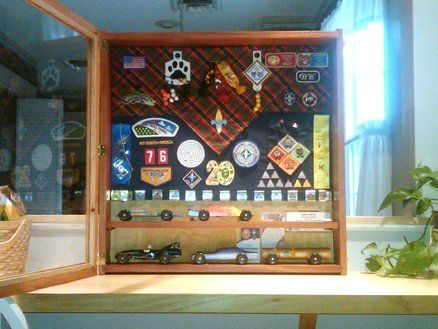 Scout Shadow Box