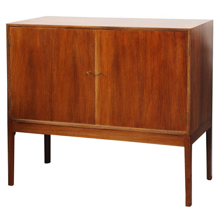 Ole Wanscher - Rosewood Cabinet | From a unique collection of antique and modern cabinets at https://www.1stdibs.com/furniture/storage-case-pieces/cabinets/