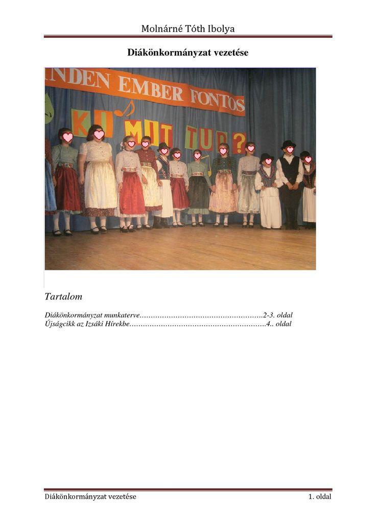 Diákönkormányzat vezetése | PDF to Flipbook