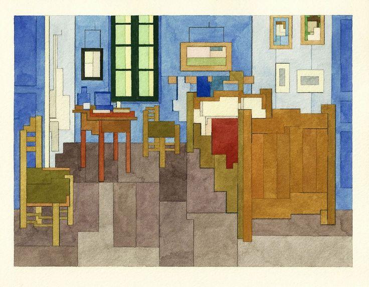 pinterest'teki 25'den fazla en iyi bedroom in arles fikri | Çizim