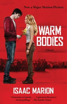 Warm Bodies by Isaac Marion. R is having a no-life crisis—he is a zombie. He has no memories, no identity, and no pulse, but he is a little different from his fellow Dead. He may occasionally eat people, but he'd rather be riding abandoned airport escalators, listening to Sinatra in the cozy 747 he calls home, or collecting souvenirs from the ruins of civilization.  And then he meets a girl.