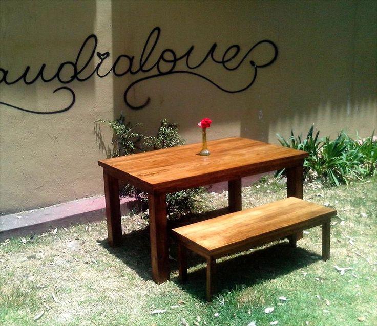 111 best images about muebles de jard n con palets on for Muebles de jardin con tarimas