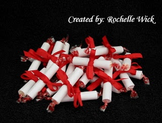 Graduation Party Favors-Diploma Smarties this wuld acute for pre k or kindergarten graduation