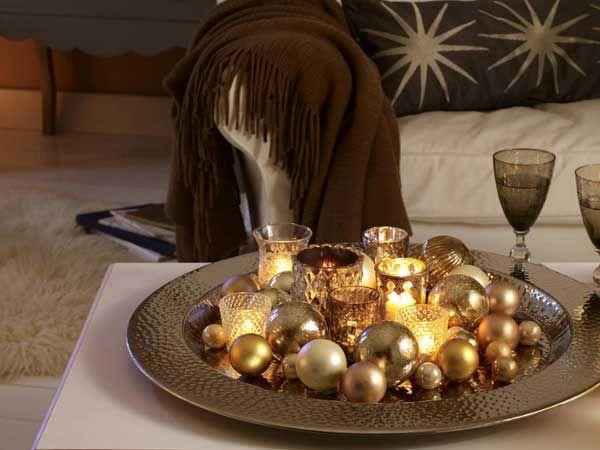 25 best ideas about deko tablett on pinterest kerzen - Etagere weihnachtlich dekorieren ...