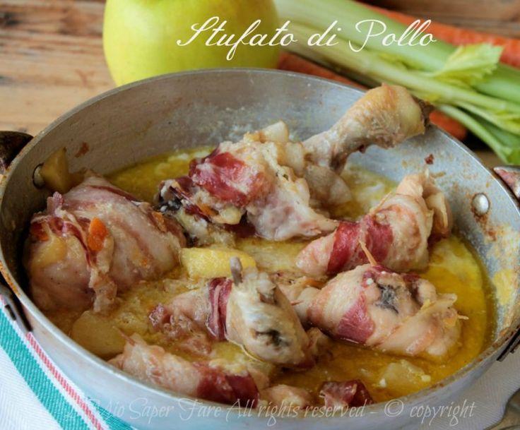 Stufato di pollo con mele yogurt e zenzero ricetta della tradizione