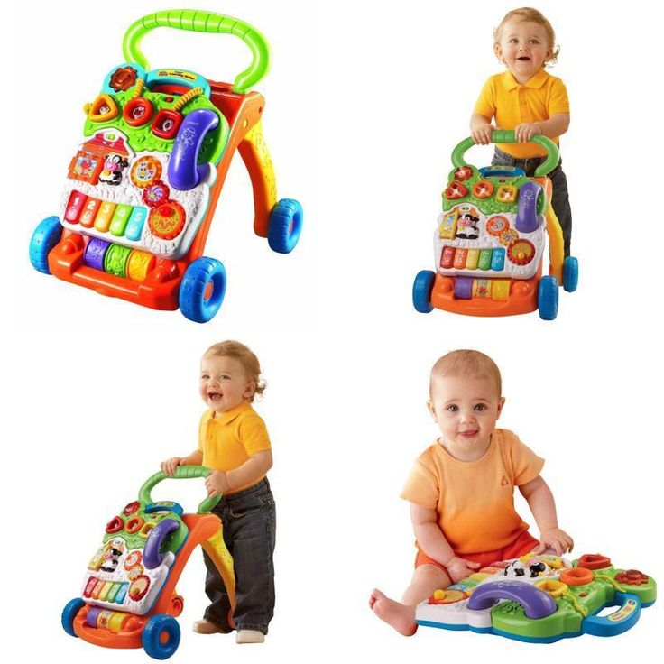 Toys Sit to Stand Learning WALKER, Interactive Activity Panel BABY WALKER Xams #VT #Custom