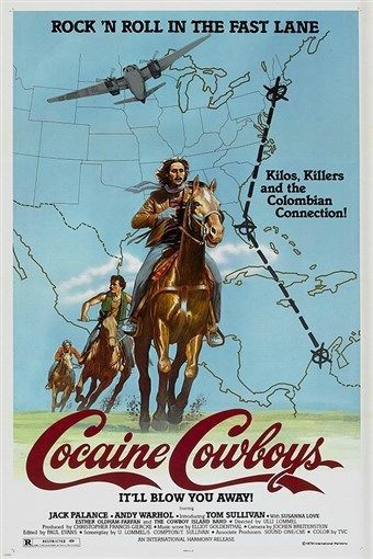 it'll blow you away COCAINE COWBOYS movie poster 1979 drugs murder 24X36 NEW