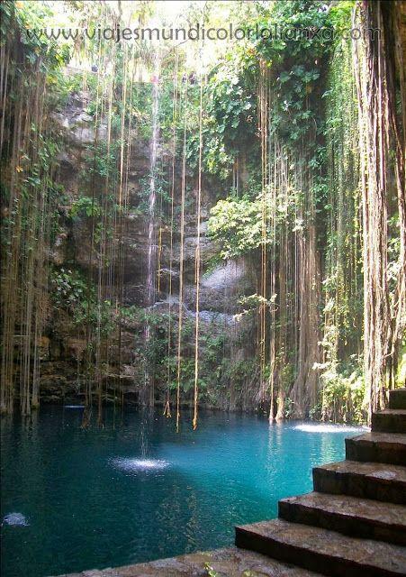 Viajes Mundicolor L´alianXa. Cenote en Cancún.