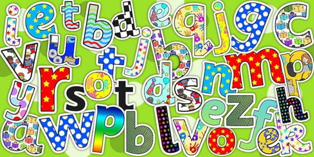 Display lettering variety pack display letter classroom for Display lettering
