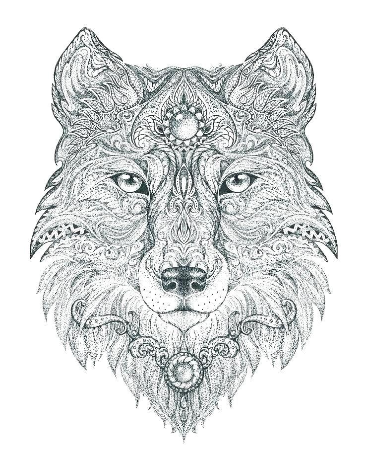 Coloriage A Imprimer Loup