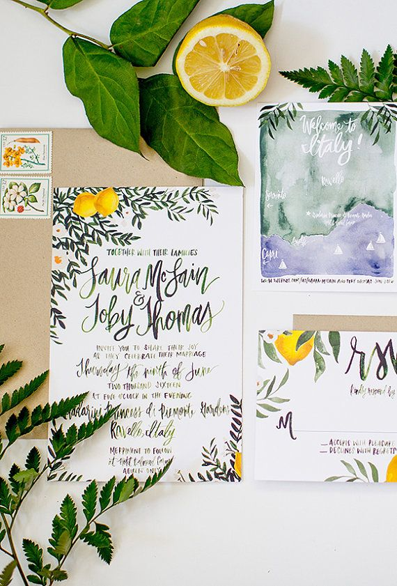 ShannonKirsten Lemon & Greenery Italy Inspired Suite