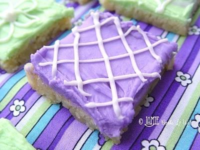 Sugar Cookie Bars - my new favorite cookie recipe!