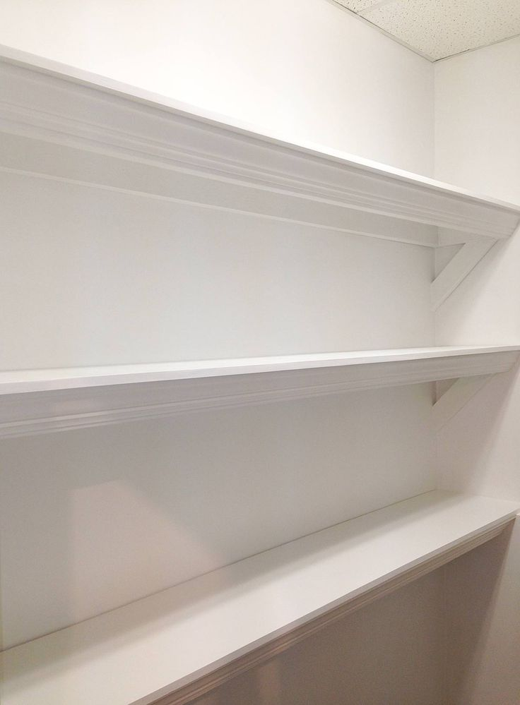 Building Shelves :: How to build pretty and strong shelves to hold heavier things.