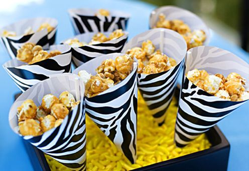 Jungle party snacks