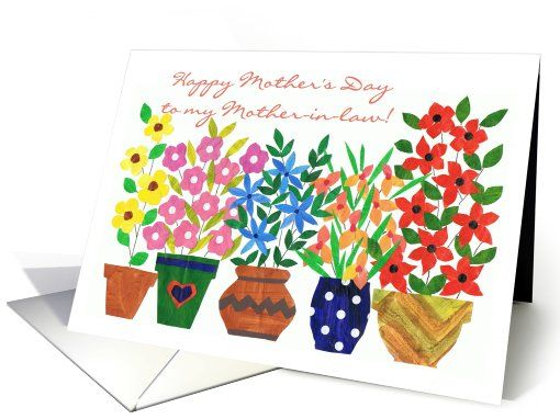 Mother's Day Card for a Mother-in-law - 'Flower Power': up to $3.50 - http://www.greetingcarduniverse.com/holiday-cards/mothers-day-cards/for-mother-in-law/mothers-day-card-for-a-846116?gcu=43752923941
