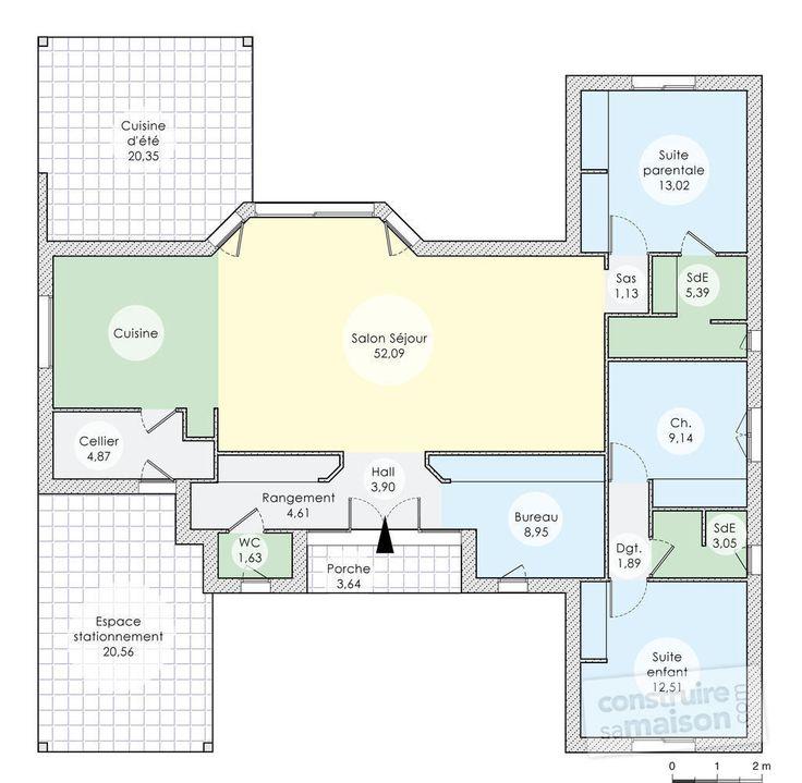 plan maison une maison nergie positive - Plan Maison Ideale Feng Shui