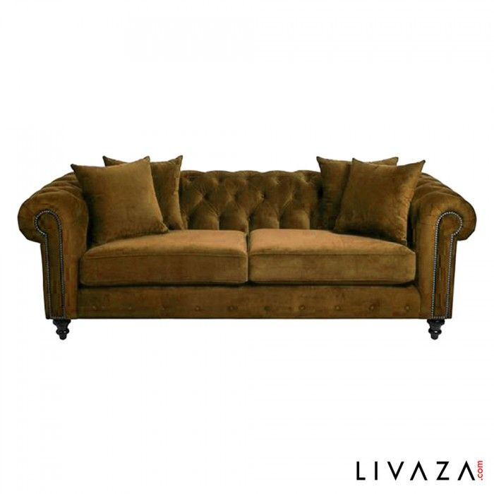 Cheap Sofas  uMartin u Sectional sofa with wooden structure padded with foamed polyurethane in different density Contemporary